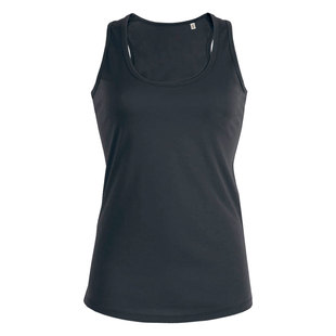 Dames tanktop medium fit 100 organic katoen digitransfer.be