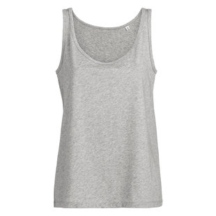 Dames tanktop loose fit 100 organic katoen digitransfer.be