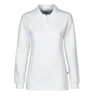 Dames Polosweater comfort cut 50 katoen digitransfer.be